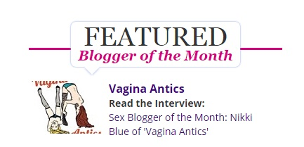 Kinkly Sex Blogger of the Month